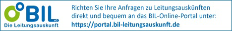 BIL Leitungsauskunft - Erdgas Münster